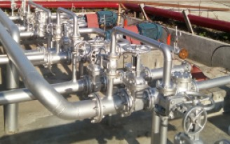 Installation of Piping System for Gasoline/Diesel/Bunker